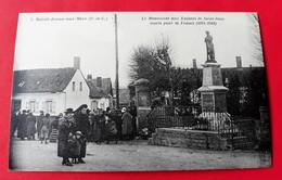 CPA 62 SAINT-JOSSE-SUR-MER N° 4 Le Monument Aux Enfants De Saint-Josse Morts Pour La France ( Environs ETAPLES ) - Autres Communes