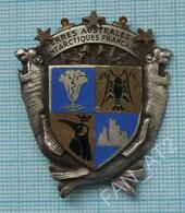 FRANCE / TAAF / Badge / Terres Australes Et Antarctiques Françaises.The French Southern And Antarctic Lands Wappen 1960s - Administrations
