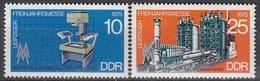GERMANY DDR 2023-2024,unused - Usines & Industries