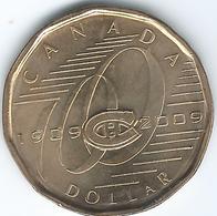 Canada - Elizabeth II - 2009 - 1 Dollar - Montreal Canadiens - KM864 - Canada