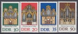 GERMANY DDR 2111-2114,unused - Music