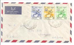 Sudan. 1960. Olumpique 1960 Rome - Soudan (1954-...)