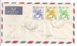 Sudan. 1960. Olympique 1960 Rome - Sudan (1954-...)