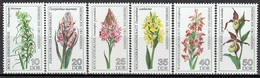 GERMANY DDR 2135-2140,unused,flowers - [6] Democratic Republic
