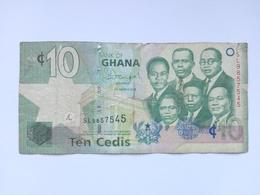 10 Cedi Banknote Aus Ghana 2013 (sehr Schön) - Ghana