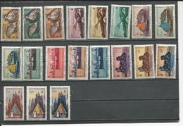 NOUVELLE CALÉDONIE Scott 276-294 Yvert 259-277 (19) * Cote 31,80 $ 1948 - Neufs