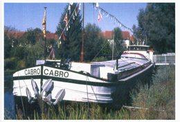 Thème -  Péniche Cabro - Musée De La Batellerie - Offendorf - Houseboats