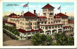 Florida Jacksonville The Windsor Hotel 1929