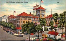 Florida Jacksonville The Windsor Hotel 1946