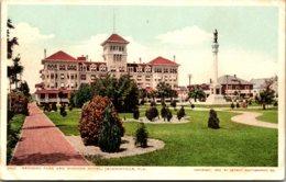 Florida Jacksonville Hemming Park and Windsor Hotel Detroit Publ