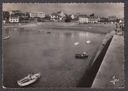 100421/ LOCQUIREC, Le Port Et Sa Plage Vus De La Digue - Locquirec