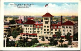 Florida Jacksonville Birds Eye View Of Windsor Hotel and Hemming