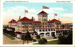 Florida Jacksonville Windsor Hotel 1924 - Jacksonville