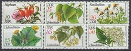 GERMANY DDR 2287-2292,unused - Medicinal Plants