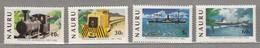 NAURU 1982 Transport Trains Ships MNH(**) Mi 254-257#24046 - Nauru