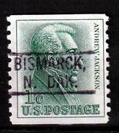 USA - PREO / PRECANCEL - North Dakota : Bismarck - Preobliterati