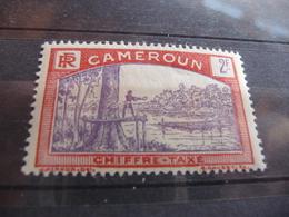 TIMBRE  CAMEROUN  TAXE    N  12      COTE  6,00  EUROS    NEUF  SANS  CHARNIÈRE - Cameroun (1915-1959)