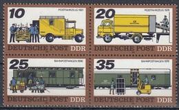 GERMANY DDR 2299-2302,unused,post - Post