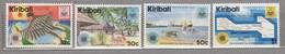 KIRIBATI 1984 Commonwealth Day Tourism MNH(**) Mi 443-446 #24049 - Kiribati (1979-...)