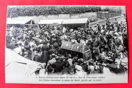CPA 62 SAINT-JOSSE-SUR-MER N°  8 Lieu De Pélerinage Célébre La Châsse Contenant Le Corps Du Saint ( Environs ETAPLES ) - Autres Communes