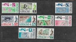 Gibraltar, 1960 -2, EIIR, 1/2d, 1d,  2 1/2d - 1/=, MH * - Gibraltar