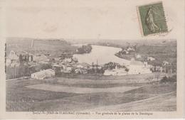 CPA Saint-Jean-de-Blaignac - Vue Générale De La Plaine De La Dordogne - France