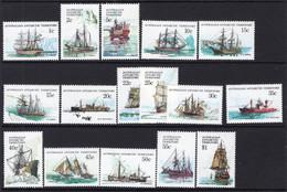 1979/81 - AUSTRALIAN ANTARTIC TERRITORY -  Yi.  37/52 - NH - (REG2875.. 25) - Unused Stamps