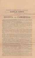 MANIFESTO PRODOTTI CARLO ERBA (EX415 - Non Classificati