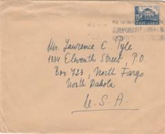 LETTERA DIRETTA STATI UNITI DA BULGARIA 1949 TIMBRO SOFIA (EX441 - 1945-59 Repubblica Popolare