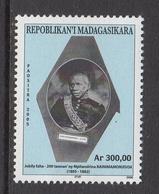 2006 Madagascar Malagasy King Royalty Complete Set Of 1  MNH - Madagascar (1960-...)