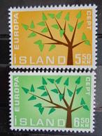1962 - ISLANDE Y&T N° 364 & 365 ** - EUROPA - 1944-... Republik