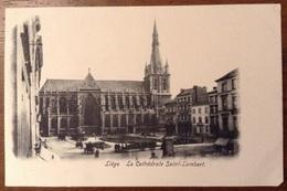 Liege La Cathedrale Saint Lambert - Liège