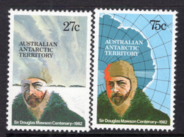1982 - AUSTRALIAN ANTARTIC TERRITORY -  Yi.  53/54 - NH - (REG2875.. 26) - Territorio Antartico Australiano (AAT)