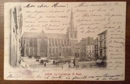 Liege La Cathedrale St. Paul 1901 - Liège
