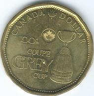 Canada - Elizabeth II - 2012 - 1 Dollar - 100th CFL Grey Cup - KM1294 - Canada