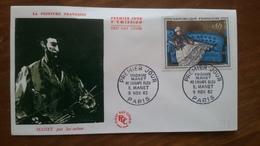 Premier Jour  FDC..   Madame MANET Au Canapé Bleu  .. 1962  PARIS - Other
