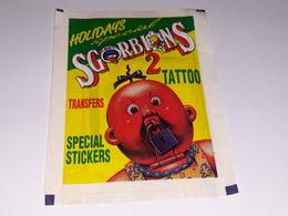 Sgorbions 2 Tattoo Holidansspecial Bustina Chiusa Con Figurine - Adesivi