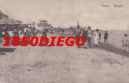 PESARO -SPIAGGIA F/PICCOLO VIAGGIATA  ANIMAZIONE - Pesaro