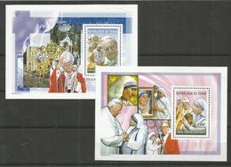 TCHAD - MNH - Famous People - Mother Teresa - Pope Jean Paul II - Mother Teresa