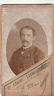 CARTE D ABONNEMENT 1892 TRAMWAYS DU DEPARTEMENT DU NORD MARC FELIX 3 RUE DESCHODT LILLE - Abonnements Hebdomadaires & Mensuels