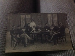 Photo Carte Camp De Beverloo Militaire Militaria  De Courcelles 1917 Voir Les 2scans - Guerre 1914-18