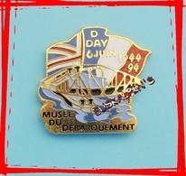 Pin's Ww2, Musée Du Débarquement, ARROMANCHES, Cinquantenaire Du Débarquement, D Day - Army