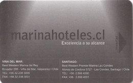 CILE  KEY  HOTEL  Best Western Marina Hoteles - Cartes D'hotel
