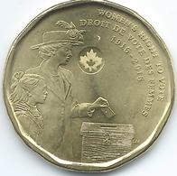Canada - Elizabeth II - 2016 - 1 Dollar - Women's Right To Vote - KM2102 - Canada