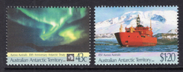 1991 - AUSTRALIAN ANTARTIC TERRITORY -  Yi.  88/89 - NH - (REG2875.. 26) - Unused Stamps