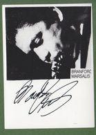 BRANFORD MARSALIS AUTOGRAPH / AUTOGRAMM   Original Signed Glossy Photo 10/15 Cm  4/6 Inch *JAZZ* - Autographes