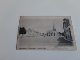 *BEVEREN-WAAS Marktplaats En Kloosterstraat  Oblitéré En 1901 - Beveren-Waas