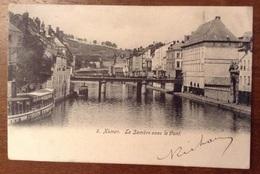 Namur La Sambre Avec Le Pont - Namur