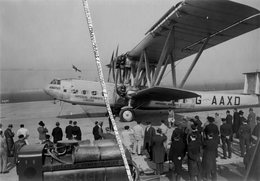 1933 / PHOTO / HANDLEY PAGE HP 42 W / G - AAXD / HORATIUS / IMPERIAL AIRWAYS / LE BOURGET / SHELL - Aviation
