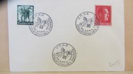 """DR: Brief 12+38 Pf """"Geburtstagdes Führers 1938"""" Mit SSt. 20.4.38 Aus Graz, Bf O. Anschrift Knr: 664, 662 - Briefe U. Dokumente"""